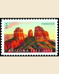 #4627 - (45¢) Arizona Statehood