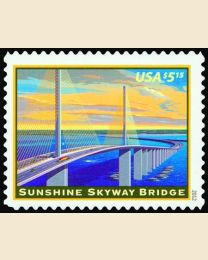 #4649 - $5.15 Sunshine Skyway Bridge