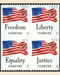 #4673S- (45¢) Four Flags booklet