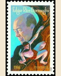 #4702 - (45¢) Edgar Rice Burroughs