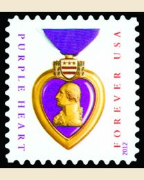 #4704 - (45¢) Purple Heart