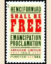 #4721 - (45¢) Emancipation Proclamation