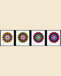 #4722S- 46¢ Kaleidoscope Flowers