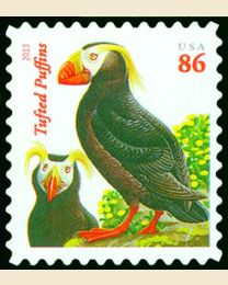 #4737 - 86¢ Tufted Puffins