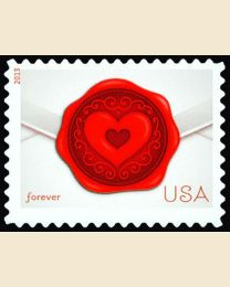 #4741 - (46¢) Love: Wax Seal