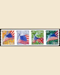 #4774S- (46¢) Flag in Four Seasons coil