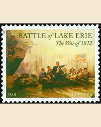 #4805 - (46¢) Battle of Lake Erie