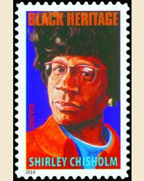 #4856 - (49¢) Shirley Chisholm