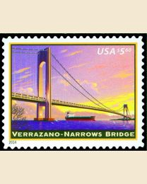 #4872 - $5.60 Varrazano-Narrows Bridge