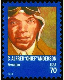 "#4879 - 70¢ C. Alfred ""Chief"" Anderson"