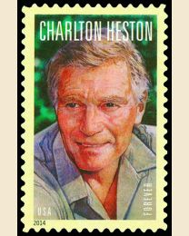 #4892 - (49¢) Charlton Heston