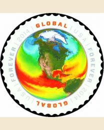 #4893 - ($1.15) Map of Sea Surface Temperatures