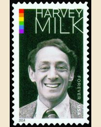 #4906 - (49¢) Harvey Milk