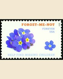 #4987 - (49¢) Forget-Me-Not Missing Children