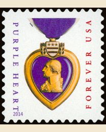 #5035 - (49¢) Purple Heart
