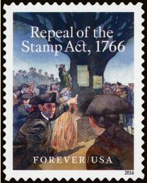 #5064 - (47¢) Repeal of the Stamp Act