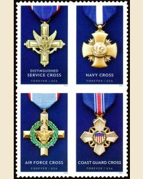#5065S- (47¢) Service Cross Medals