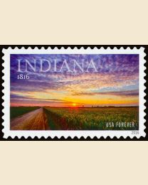 #5091 - (47¢) Indiana Statehood
