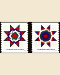 #5098S- (25¢) Star Quilts