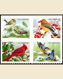 #5126S- (47¢) Songbirds in Snow