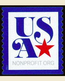 #5172 - (5¢) USA Star with Blue Border