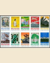 #5180S- (49¢) WPA Posters