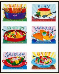 #5192S- (49¢) Latin American Dishes