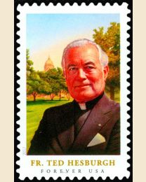 #5241 - (49¢) Father Ted Hesburgh
