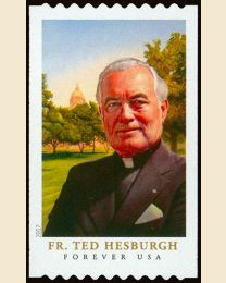 #5242 - (49¢) Father Ted Hesburgh