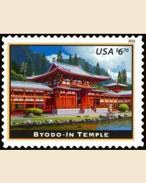 #5257 - $6.70 Byodo-In Temple