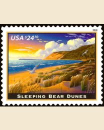 #5258 - $24.70 Sleeping Bear Dunes