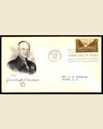 US #934 Army First Day Cover