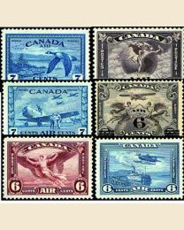 Complete Canada Airmail Collection!