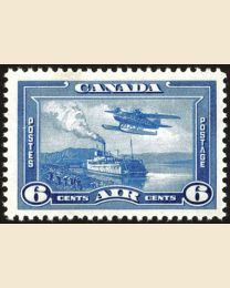 6¢ River Steamer & Seaplane (#C6)
