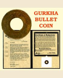 "World War II Gurkha ""Bullet"" Coin"