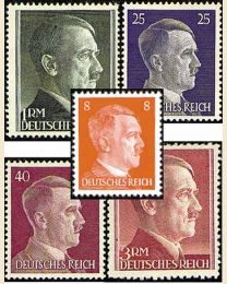 German Hitler Heads