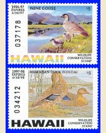 FIRST HAWAII DUCK STAMPS
