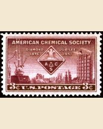 #1002 - 3¢ American Chemical Society