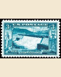 #1009 - 3¢ Grand Coulee Dam