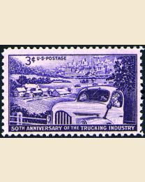 #1025 - 3¢ Trucking Industry