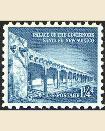 #1031A - 1 1/4¢ Palace of the Governors