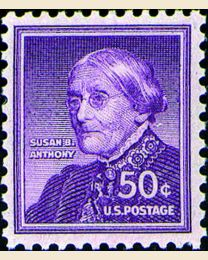 #1051 - 50¢ Susan B. Anthony