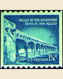 #1054A - 1 1/4¢ Palace of the Governors