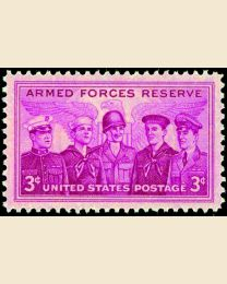 #1067 - 3¢ Armed Forces Reserve
