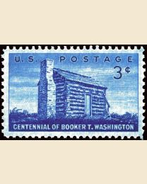 #1074 - 3¢ Booker T. Washington