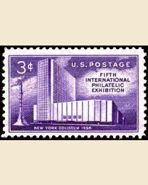 #1076 - 3¢ Philatelic Exhibition
