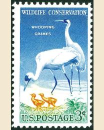 #1098 - 3¢ Wildlife Conservation