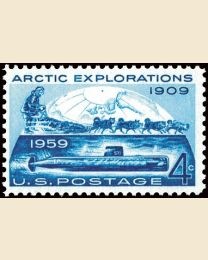 #1128 - 4¢ Arctic Explorations