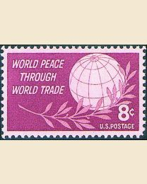 #1129 - 8¢ World Peace
