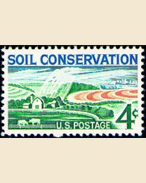 #1133 - 4¢ Soil Conservation